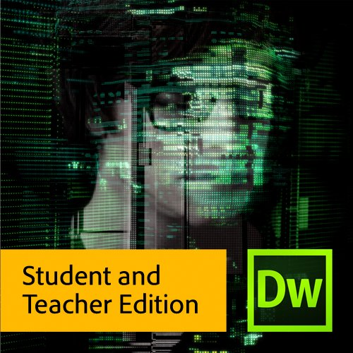 Adobe Dreamweaver CS6 Student and Teacher Edition [Download]