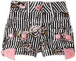 Cutecumber Girls' Shorts (859B24PK_Pink_24)
