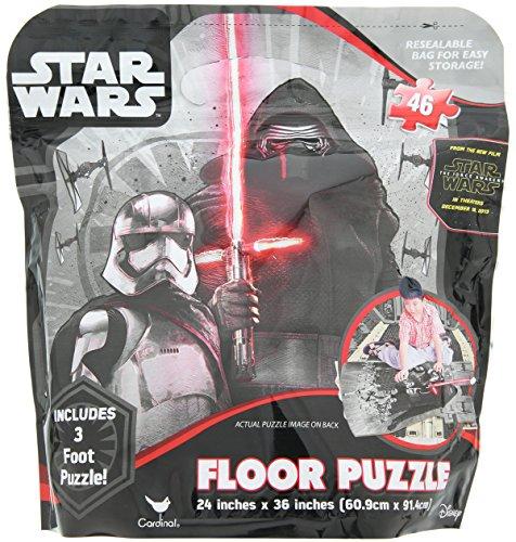 Star Wars 7 The Force Awakens Floor Puzzle in Storage Bag