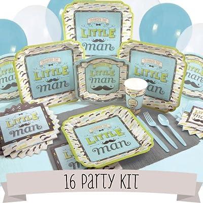 Dashing Little Man - 16 Person Party Kit
