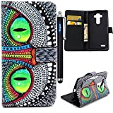 LG G4 Case,Vogue Shop G4 Case,LG G4 Wallet Case, [Ultra Slim] [Perfect Fit] Sparkle Pattern Premium Pu Leather[Wallet Function] [Stand Feature] Type Magnet Design Flip Protective Credit Card Holder Pouch Skin Case Cover for LG G4 Smartphone (Built-in Credit Card/ID Card Slot) [Flip Cover] with Foldable Stand, Pockets for ID, Credit Cards [holder] - with Stand All-around TPU Inner Case Skin Cover and Snap Button Closure [Type Magnet Design] Flip Protective Stylish Pattern Design Blue Folio Case for LG G4 with 1 stylus/one screen touch pen (vogue shop-hawkeye)