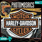Buffalo Games Photomosaic, Harley-Davids...