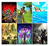 Bundle Of 6 The Legend Of Zelda Posters