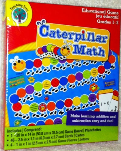 Caterpillar Math - Addition & Subtraction Educational Game (Grades 1-2)