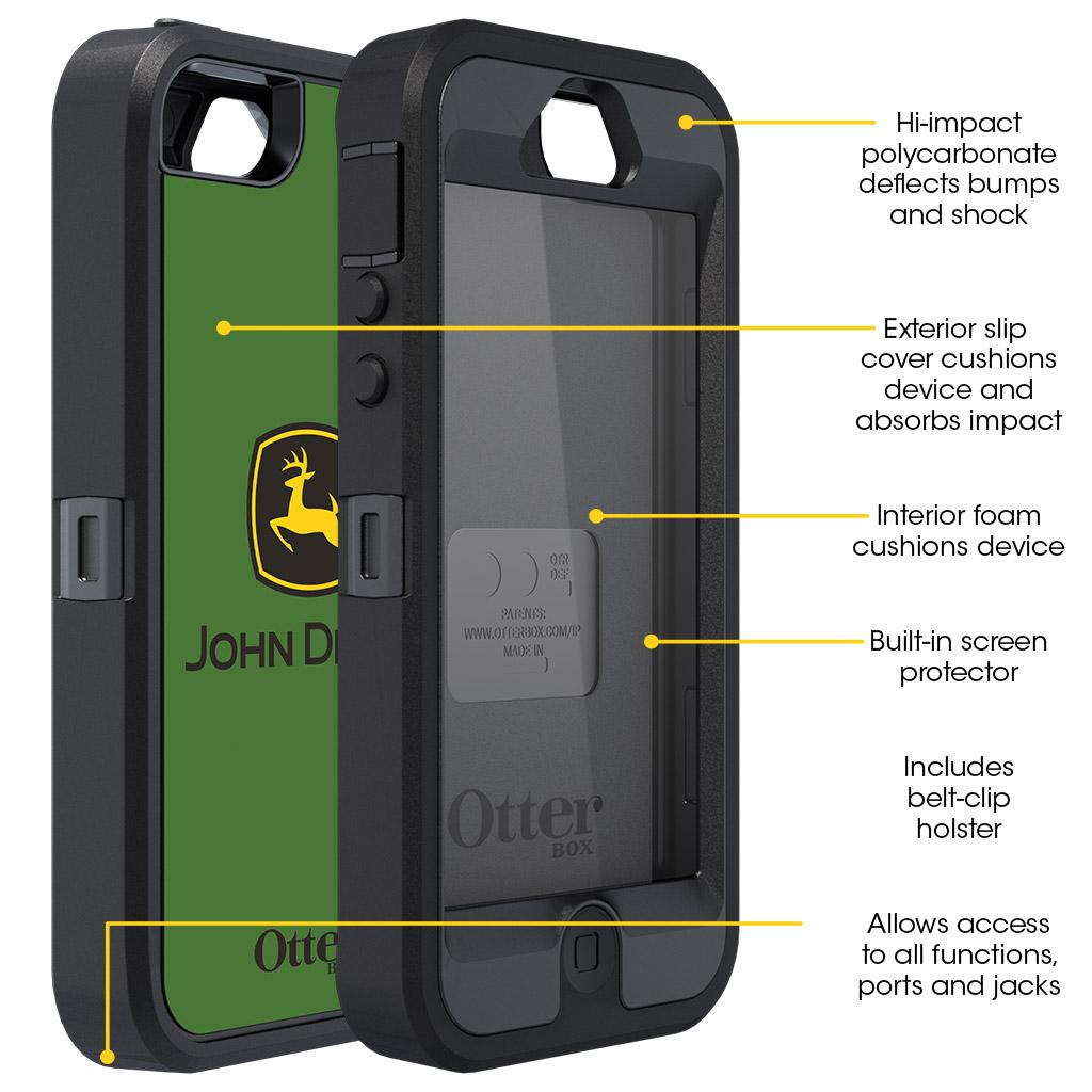 Amazon.com: OtterBox Defender Series for Apple iPhone 5
