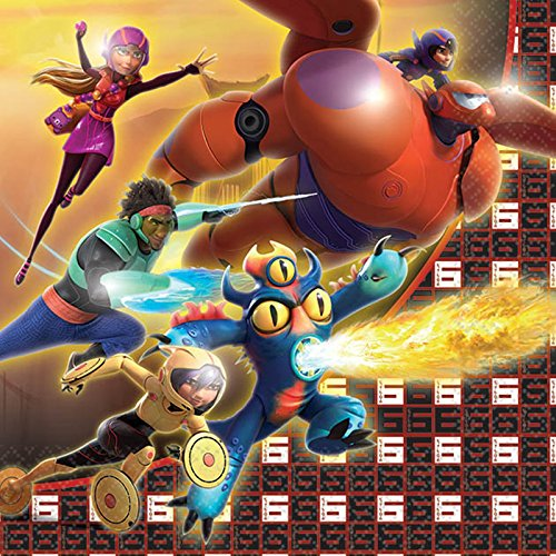 Disney Big Hero 6 - Beverage Napkins (16) - 1