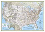 USA Classic Wall Map- Mural Map
