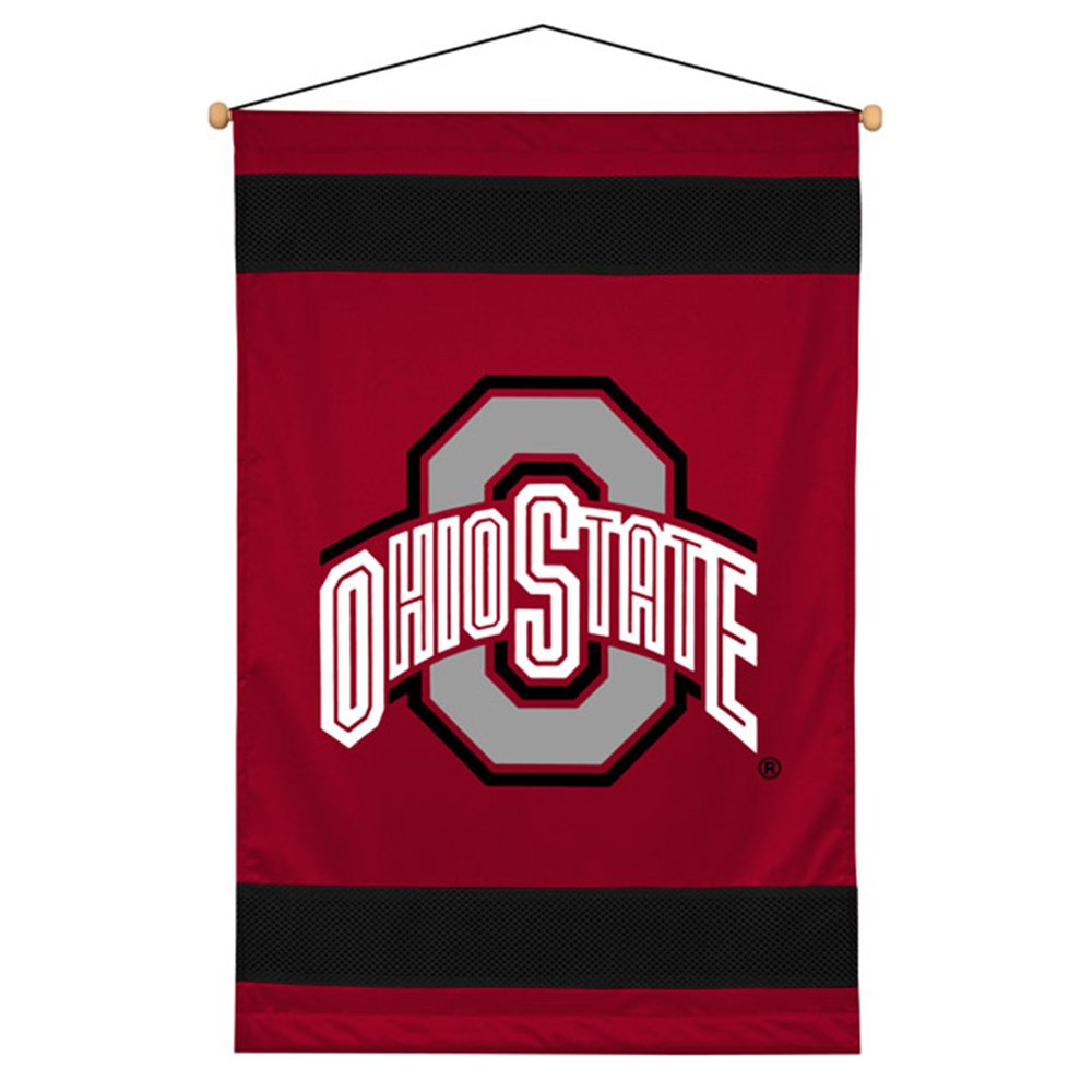 NCAA Ohio State Buckeyes Sideline Wall Hanging modern non woven wallpaper roll 3d foam embossed rural flower bedroom living room background home decor wall paper wall covering