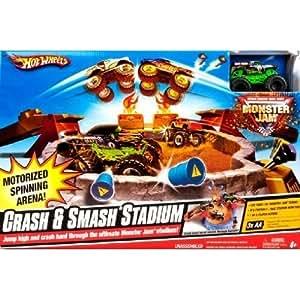 Hot Wheels Monster Jam Crash&Smash Stadium