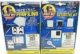 Bundle: 2 Items- Undercover Spy Gear Fingerprint Kit + Criminal Profiling Kit Set Analyze Crime Solving Detective Kit