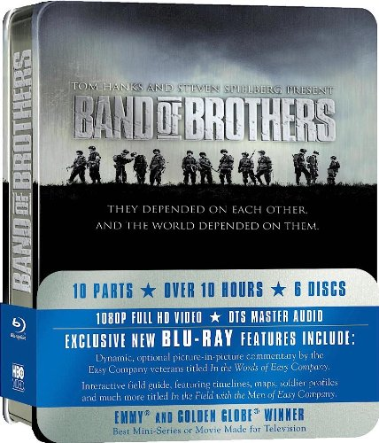 Band of brothers (tin pack) [Blu-ray] [IT Import]