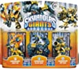 Skylanders Giants - Triple Pack EXCLUSIF (Legendary Jet-Vac / Legendary Slam Bam / Legendary Ignitor