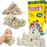 チラカサンド 追加用 砂 5kg サンドカラー キネティック で 不思議な 砂 サンド お片づけ簡単 散らからない 砂遊び