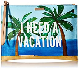 kate spade new york Breath Of Fresh Air Vacation Medium Bella Pouch, Multi, One Size