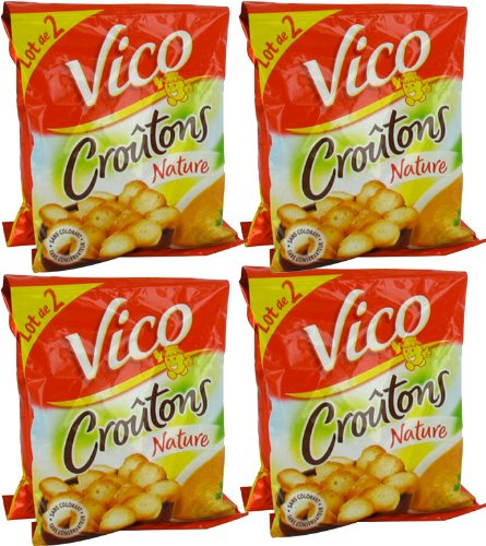 French natures croutons Vico-croutons natures- 4 x(2 x 90 gr)