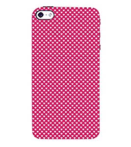 Valentines Day pattern 3D Hard Polycarbonate Designer Back Case Cover for Apple iPhone 4