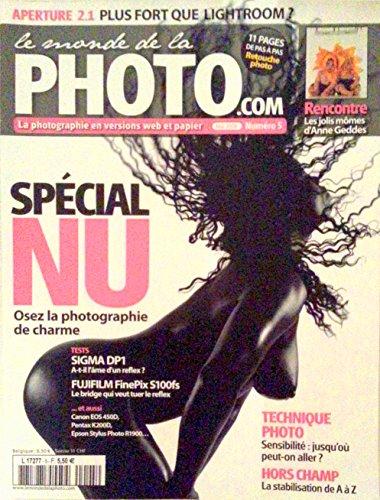 LE MONDE DE LA PHOTO.COM [N° 5 ] MAI 2008 / SPECIAL NU