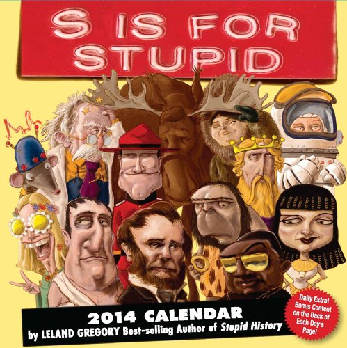 S is for Stupid 2014 Day-to-Day Calendar