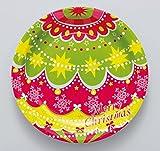 FBAPT312 紙皿8枚入 クリスマスオーナメント