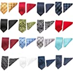 Gadzo� Krawatten Set Einstecktuch + 8...
