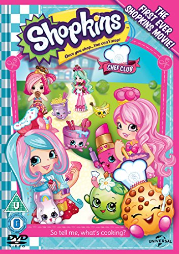 Shopkins: Chef Club (Includes Limited Edition Kooky Cookie Gift) [DVD] [2016]