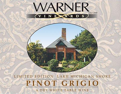 2012 Warner Vineyards Pinot Grigio 750 Ml