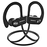 Bluetooth Headphones, TRINIDa IPX7 Waterproof Sport Wireless Headset for Running, Best in Ear Earbuds HiFi Stereo w/Mic 10 Hours Playback Gym Workout