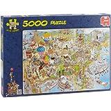 Jan van Haasteren -  USA Jigsaw Puzzle (5000 Pieces)
