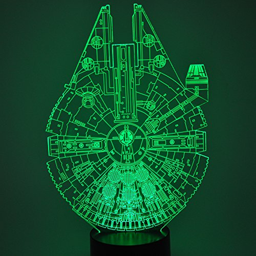 Millenium Falcon 3D Illusion LED Night Light
