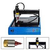 Electronic MetalMarkingMachine Engraving Machine 110V/220V for Industrial Nameplate Dog tag Steel ID Card Copper Aluminum Stainless Steel and Plastic Engraving Embosser (ENPM-MKW-2015-220V) (Tamaño: ENPM-MKW-2015-220V)