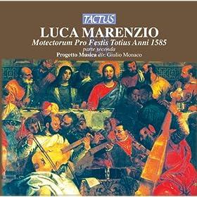 Marenzio: Motectorum pro festis totius anni 1585, parte seconda
