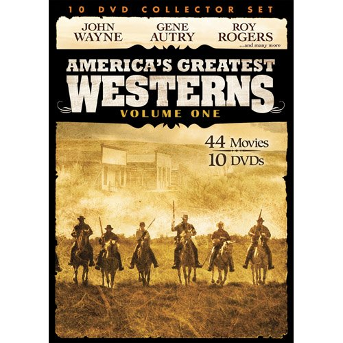 Cover art for  America's Greatest Westerns Collector's Set V.1