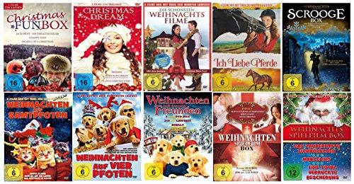 Weihnachten Spielfilme Box XXL ( mit den schönsten 30 Weihnachtsfilmen zum Fest ) ( 30 Filme - 10 DVDs )
