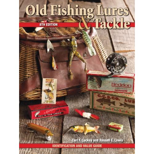 image old fishing lures tackle identification and