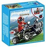 Playmobil Granja - Quad rescate de montaña (5429)
