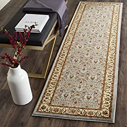 Safavieh Lyndhurst Collection LNH312B Light Blue and Ivory Runner, 2 feet 3 inches by 12 feet (2\'3\