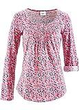 Flower Print Jersey Top