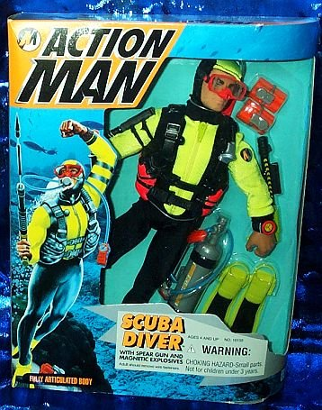 Picture of Kenner Action Man Scuba Diver 12