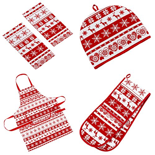 Nordic Xmas Kitchen Apron
