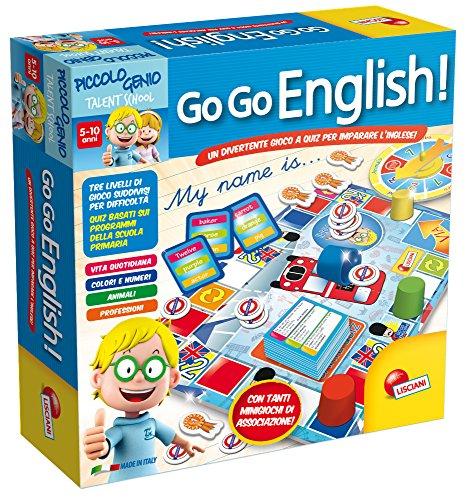 Lisciani 48892 - Piccolo Genio Ts Go-Go English!