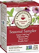 Cold Season Sampler, Traditional Medicinals - 16 tea bags