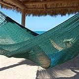 Tropical Jumbo Mayan Hammock by Beachside Hammocks - Green