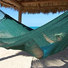 buy Tropical Jumbo Mayan Hammock By Beachside Hammocks - Green