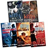 img - for Carrie Vaughn Kitty Norville 5 Books Collection Pack Set RRP:  27.96 (Kitty Raises Hell, Kitty and the Dead Man''s Hand , Kitty Takes a Holiday, Kitty and the Midnight Hour , Kitty goes to washington) book / textbook / text book