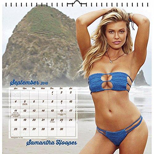 Sports Illustrated Swimsuit Wall  2016  Art Calendar ( スポーツイラストレイティッド 水着 デザイン カレンダー ) 並行輸入品