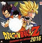 DRAGON BALL Z CALENDRIER 2016
