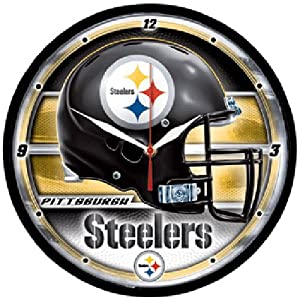 Wincraft Pittsburgh Steelers Round Clock by WinCraft