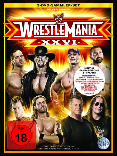 WWE - Wrestlemania 26 [Deluxe Edition] [3 DVDs] [Deluxe Edition]