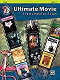 Ultimate Movie Instrumental Solos: Violin, Levels 2-3 + CD