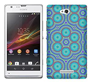 WOW Printed Designer Mobile Case Back Cover For Sony Xperia C / C2305